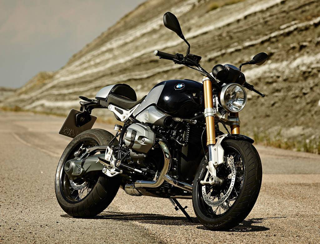 Photo BMW NineT Avant Droit