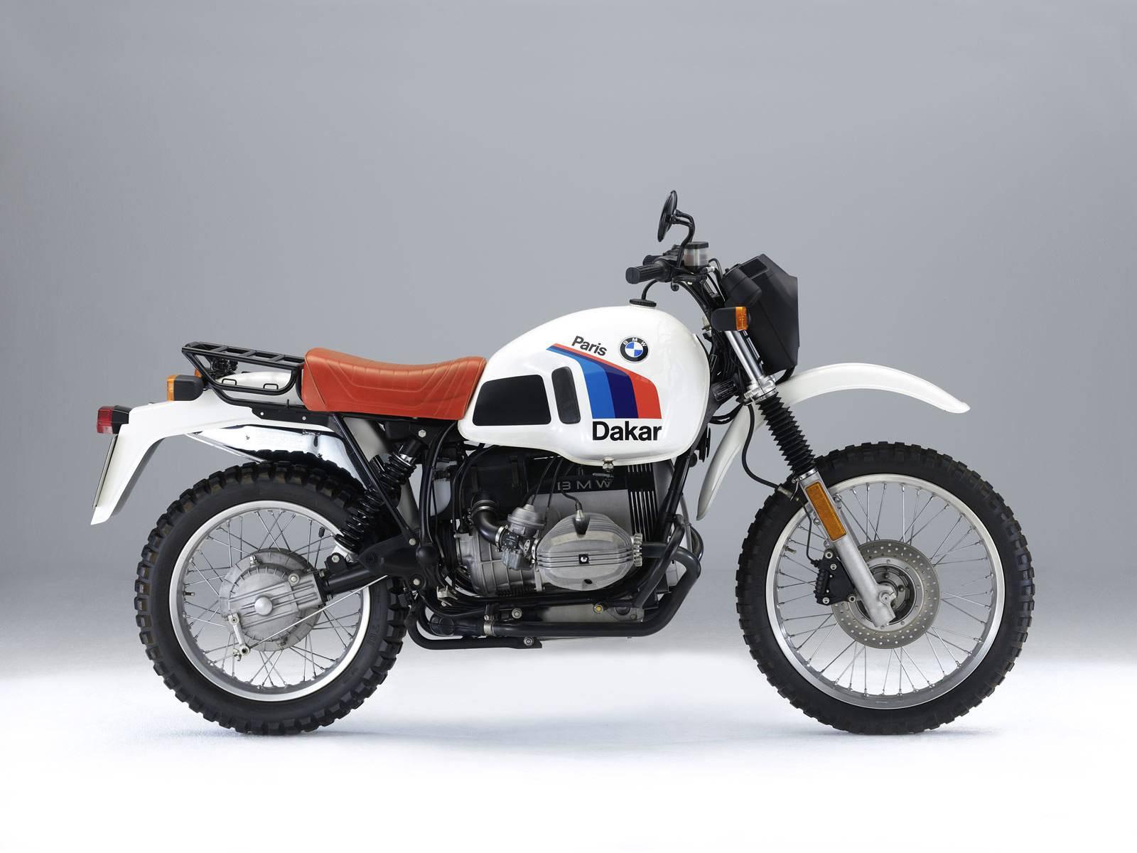 BMW R80GS Droite