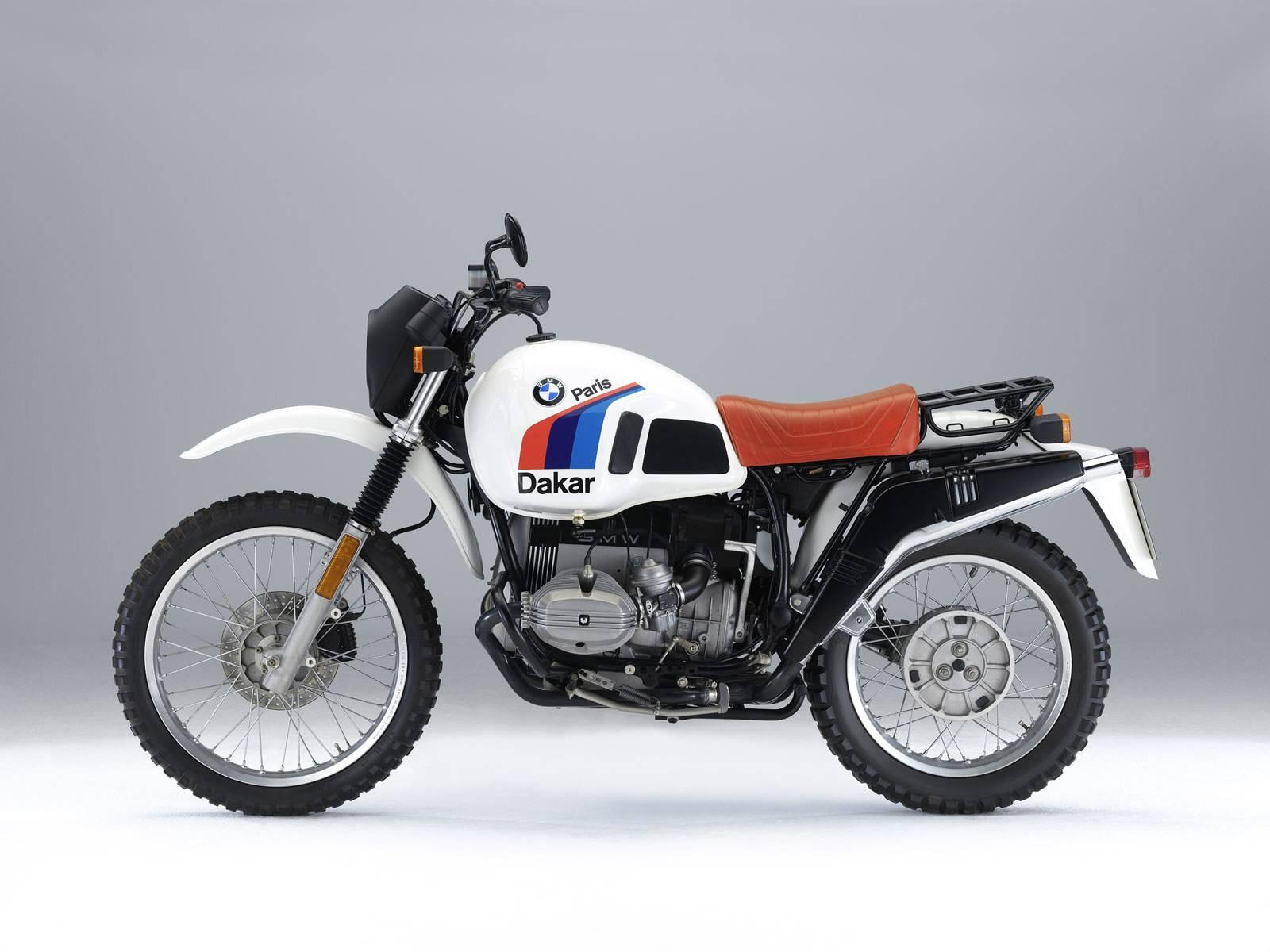 BMW R80GS Gauche